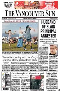 vancouver sun newspaper: